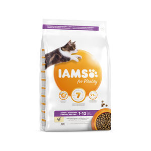 IAMS Kitten & Junior - 350 g